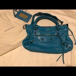 Balenciaga First - Turquoise